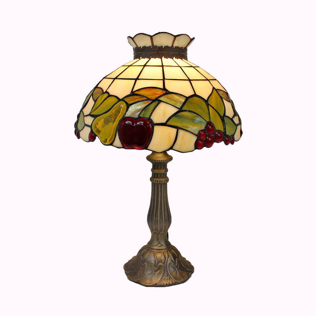 Fruit Salad Tiffany Table Lamp in Medium