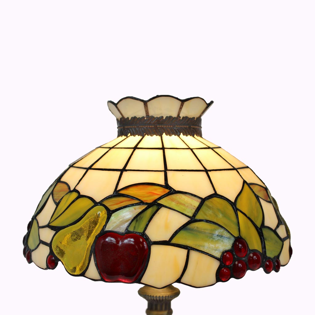 Fruit Salad Tiffany Table Lamp - Medium