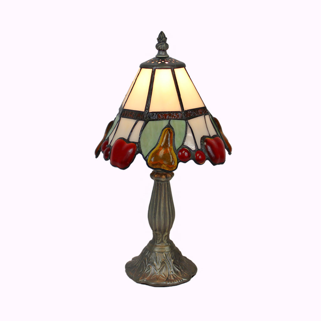 Fruit Salad Tiffany Table Lamp - Small