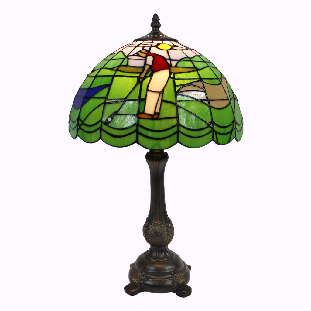 Golf Tiffany Lamp