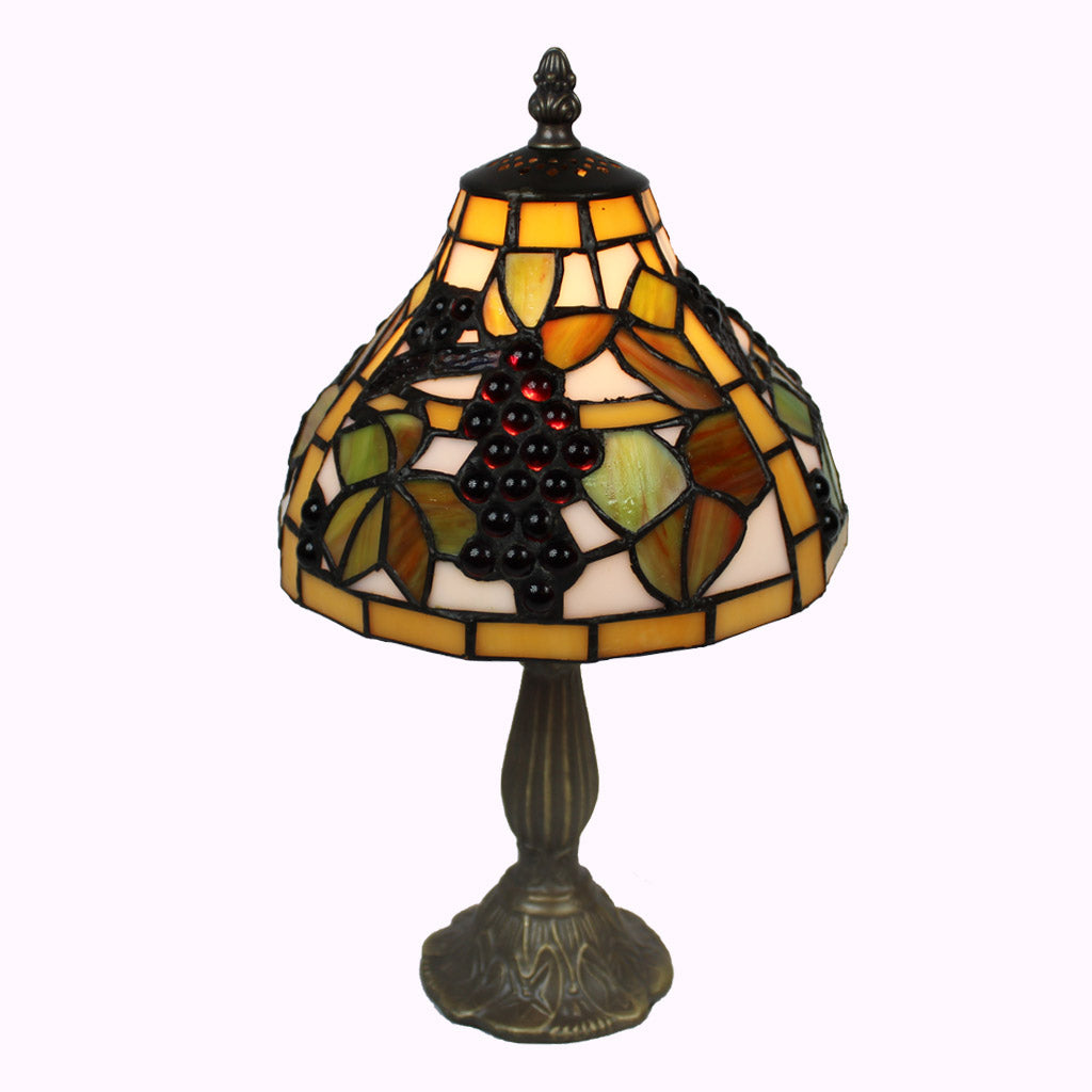 Grapevine Tiffany Accent Table Lamp - small