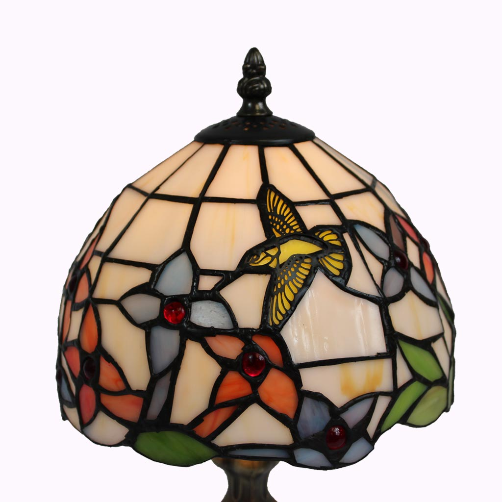 Hummingbird Tiffany Table Lamp