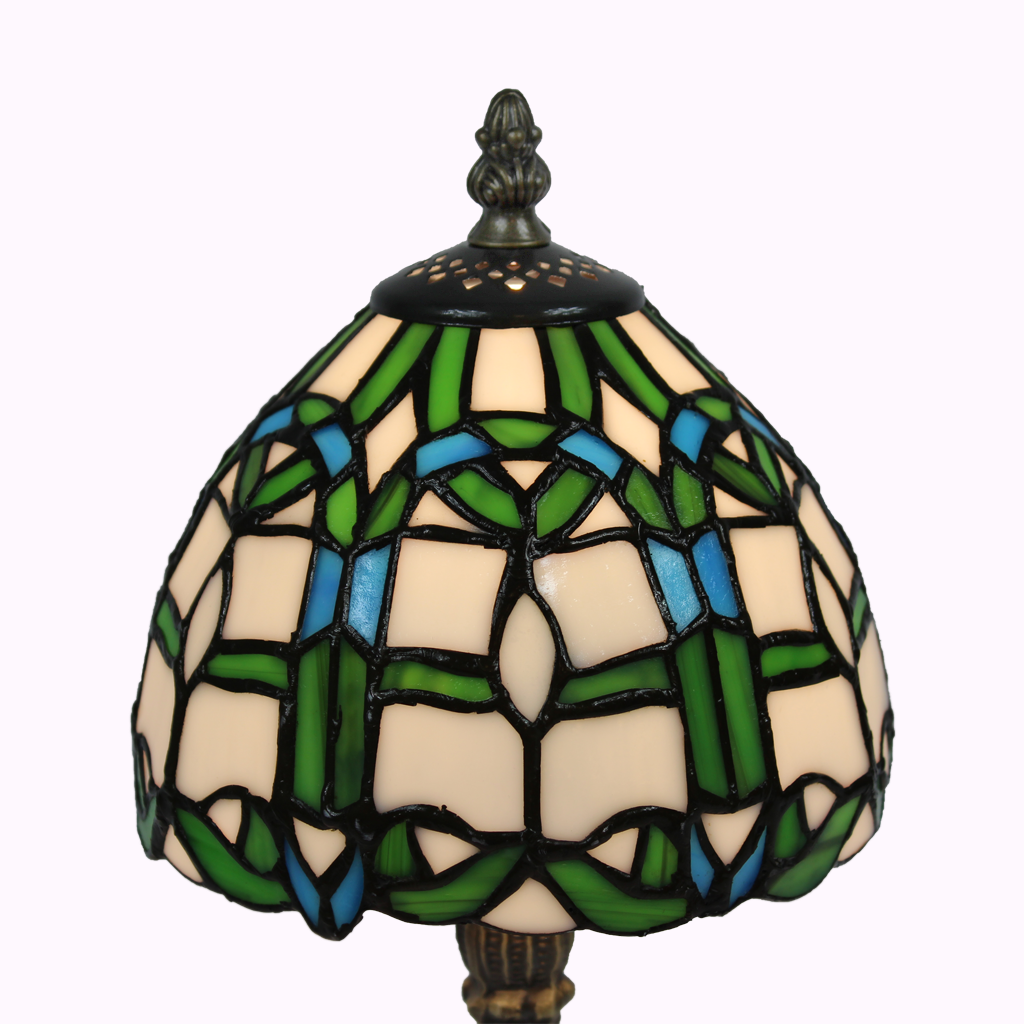 Irish Delight Tiffany Accent Lamp from Memory Lane Lamps