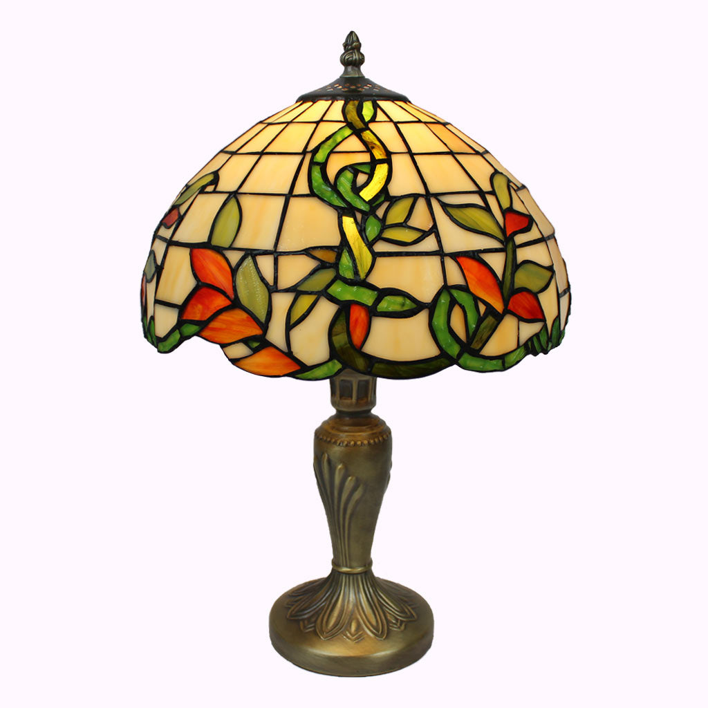 Irish Vine Tiffany Table Lamp