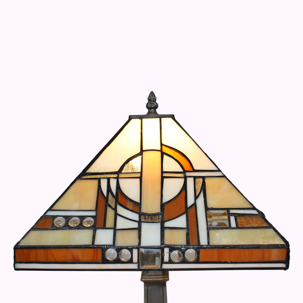 Jewel of the Nile Mission Table Lamp from Memory Lane Lamps