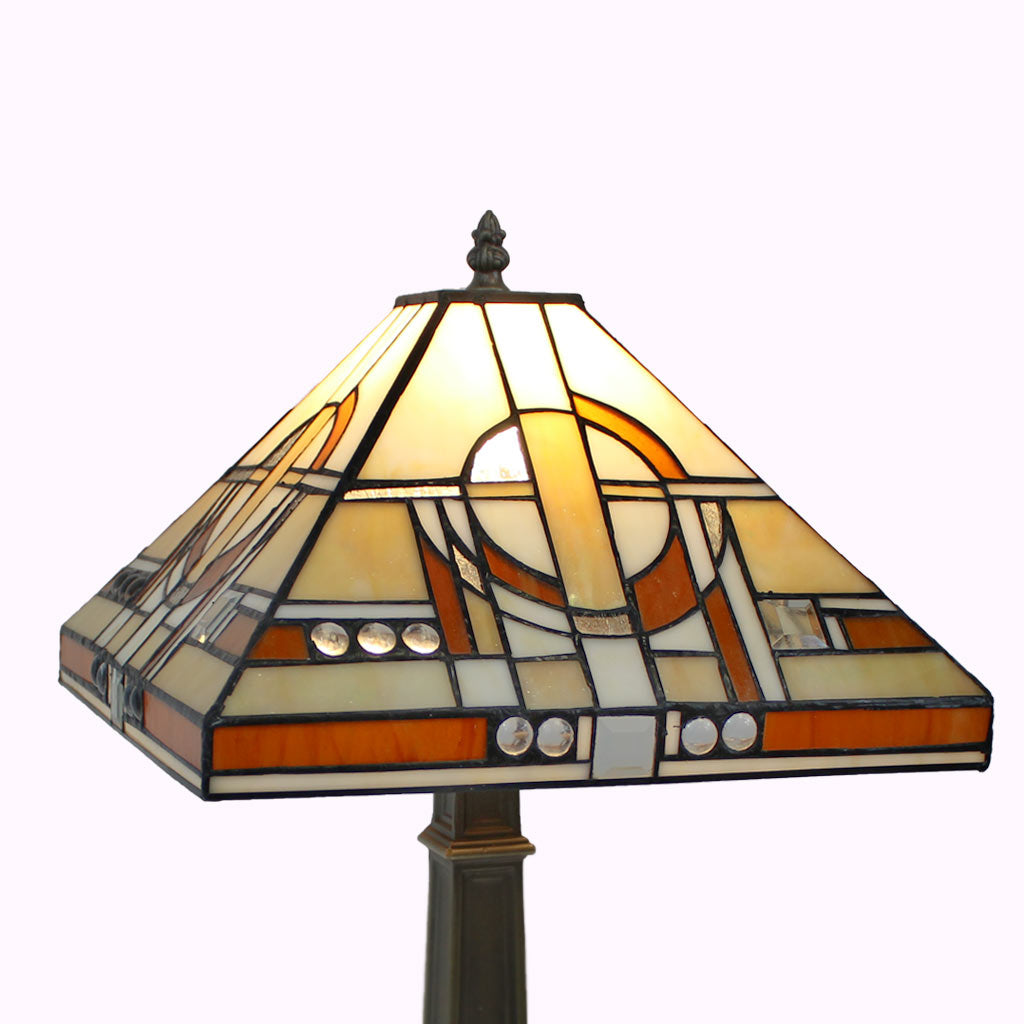 Jewel of the Nile Mission Table Lamp | Tiffany Style Lamp Shade