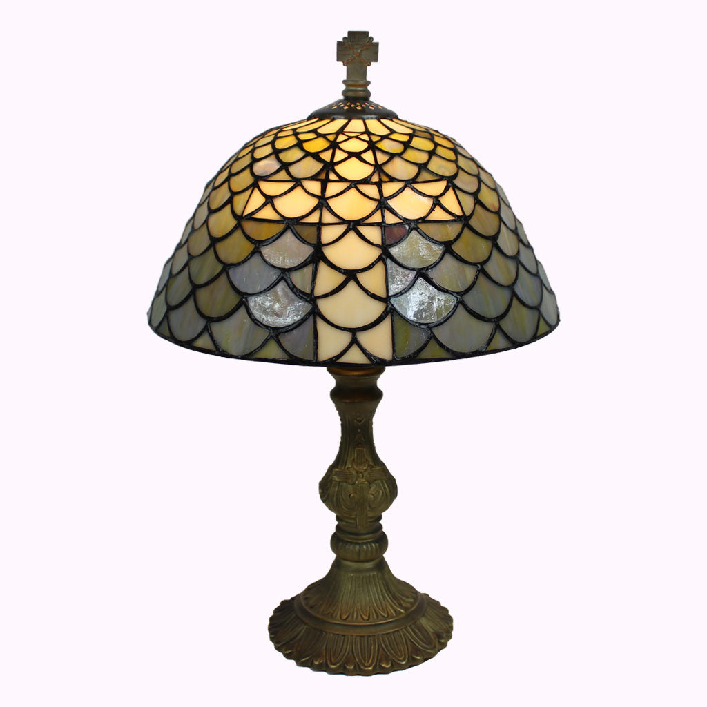 Large Chalice of Salvation Tiffany Table Lamp