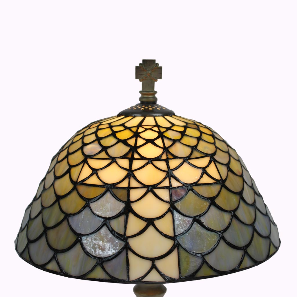 Chalice of Salvation Tiffany Table Lamp, large