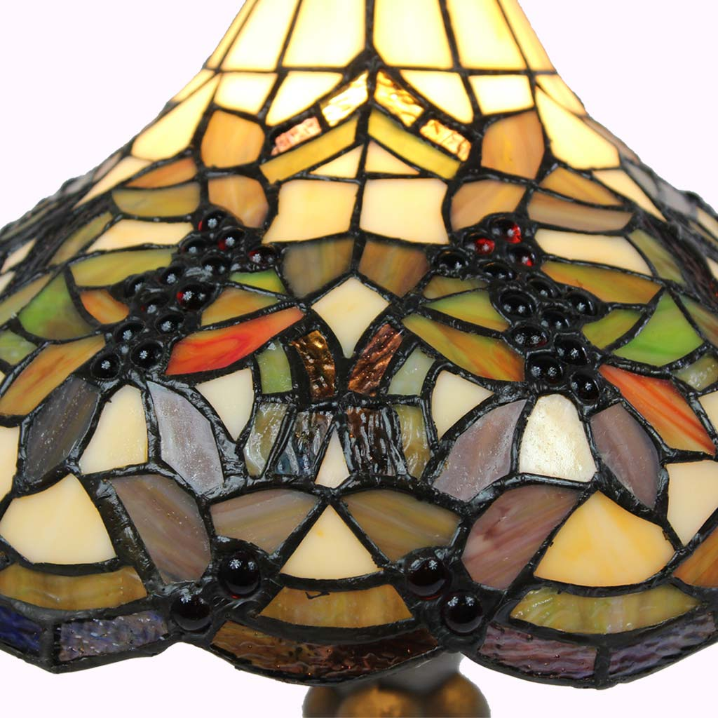 Grapevine Tiffany Table Lamp-large
