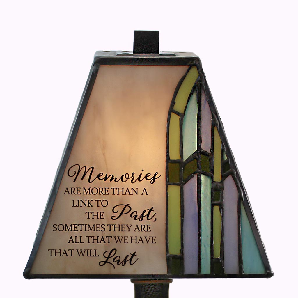 Memorial Message Mission Accent Lamp - Memories