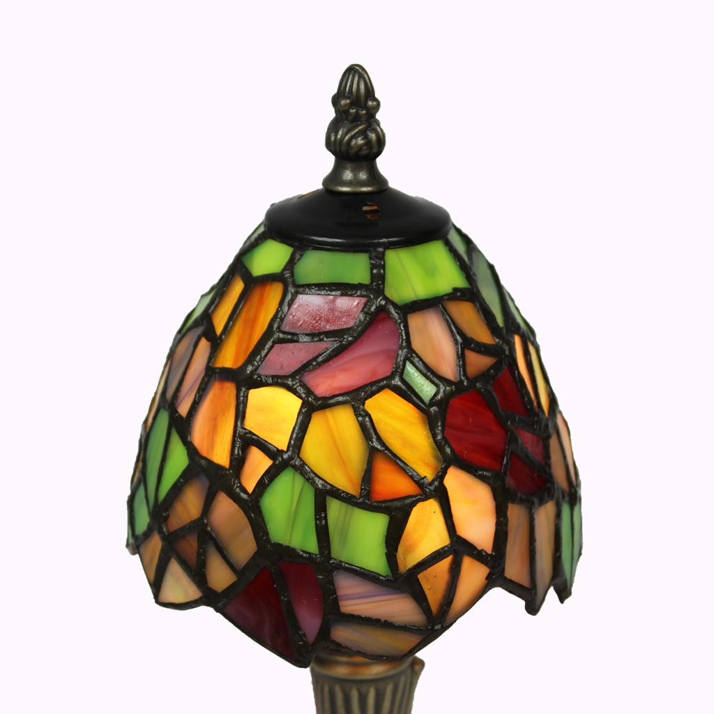 Grape Leaves Tiffany Accent Lamp