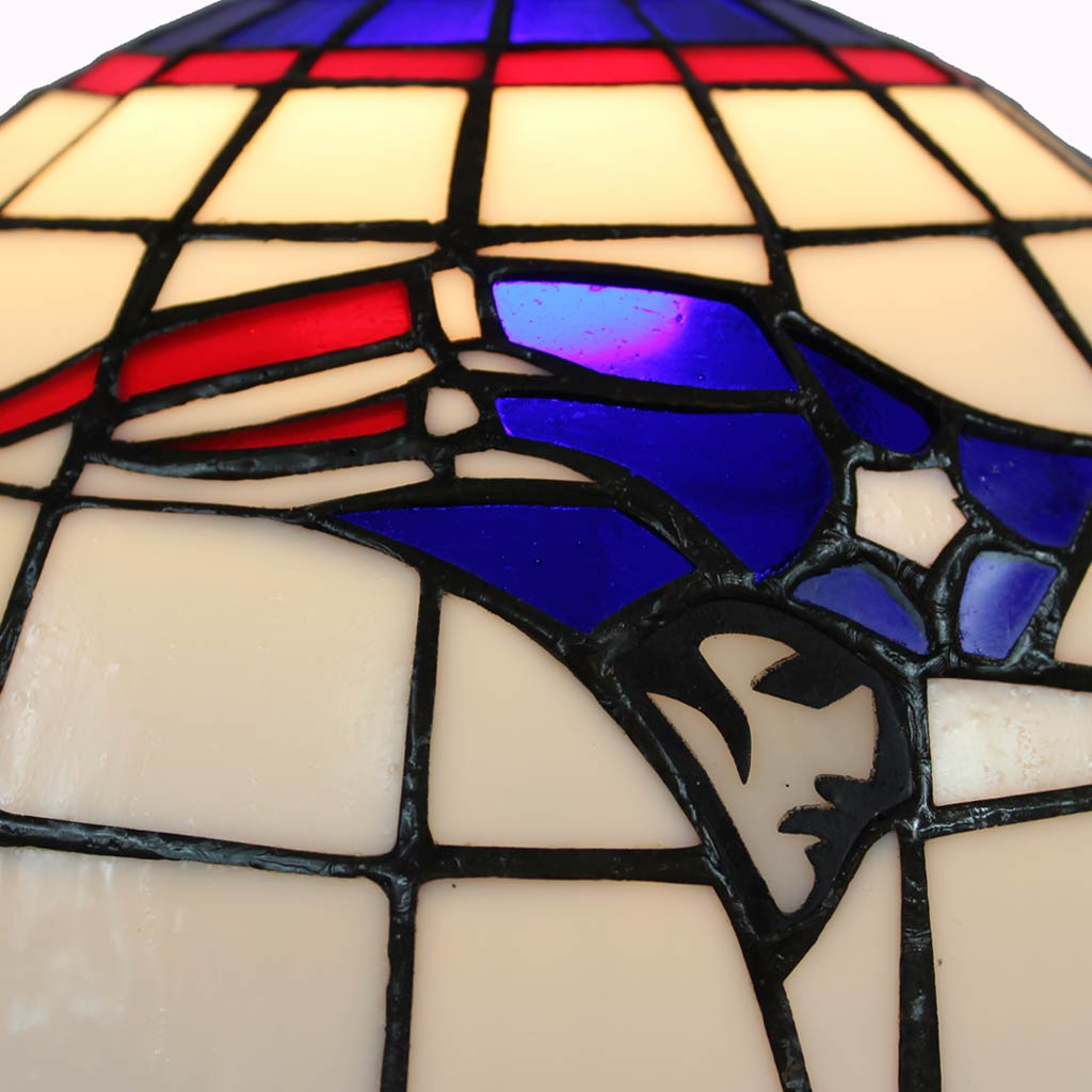 New England Patriots Tiffany Lamp
