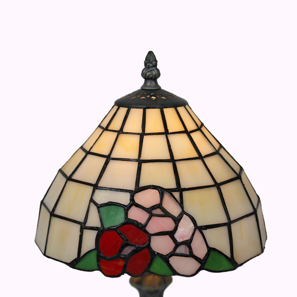Pansy Bouquet Tiffany Table Lamp
