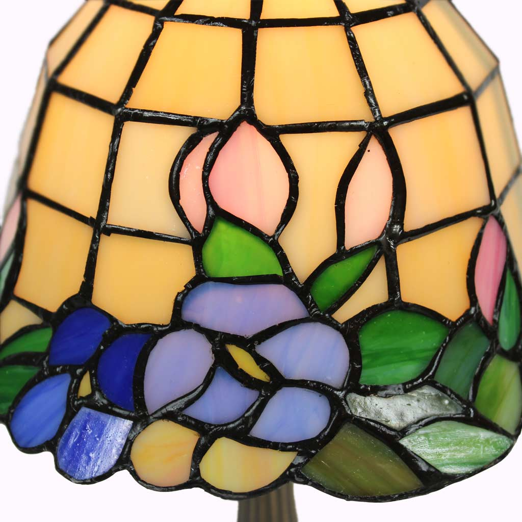 Pastel Tiffany Accent Lamp