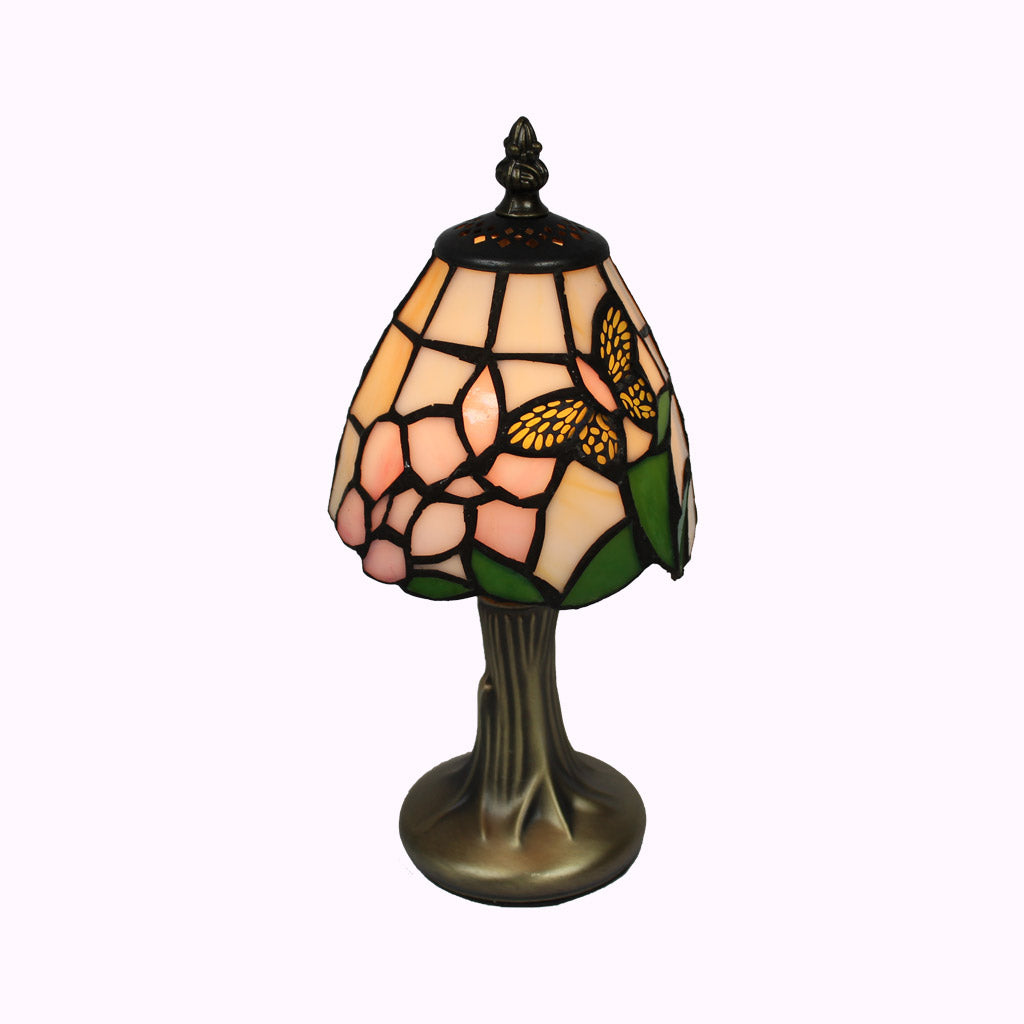Petite Butterfly Tiffany Accent Lamp