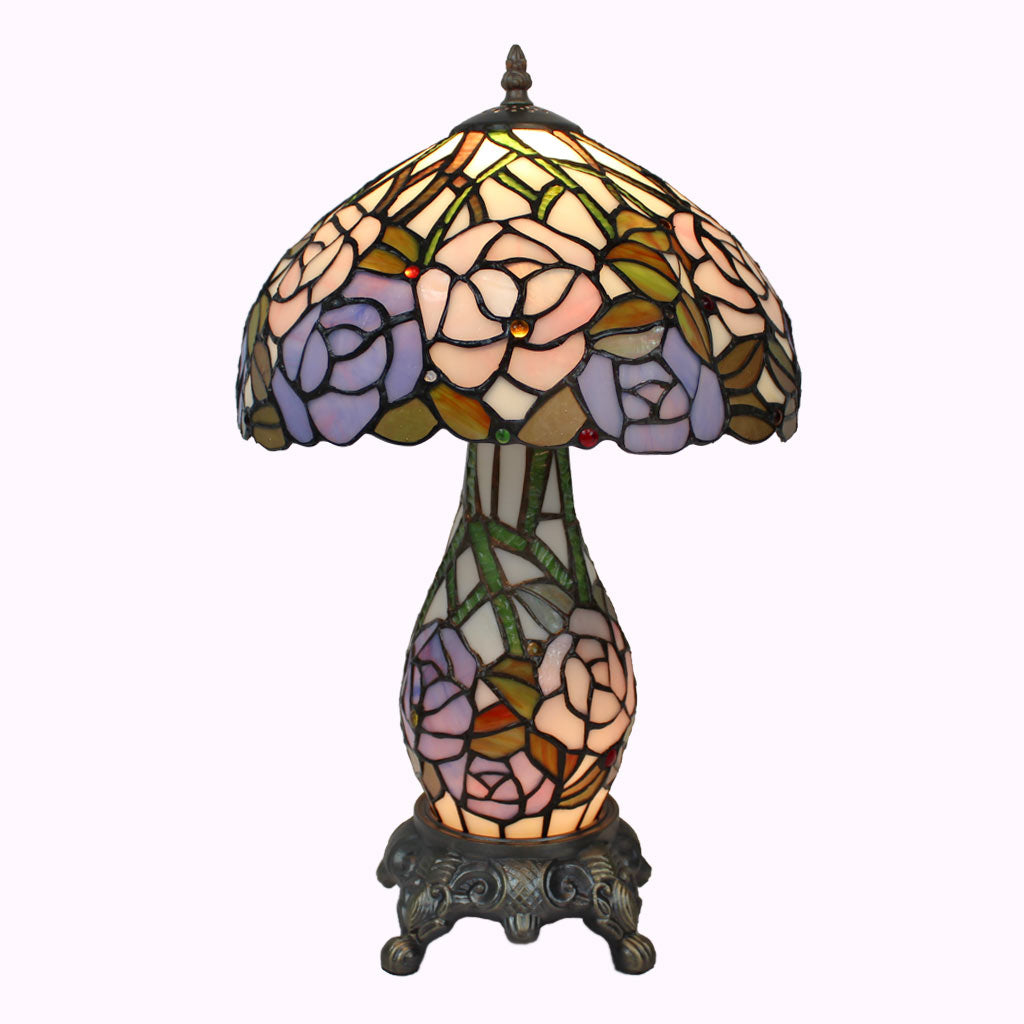 Roses Galore! Tiffany Table Lamp