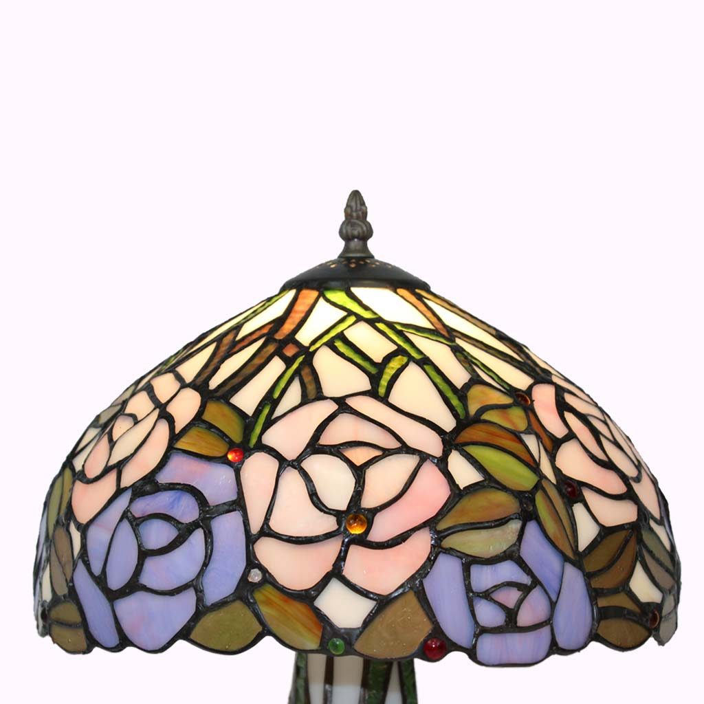 Tiffany Style Lamps | Roses Galore! Tiffany Table Lamp