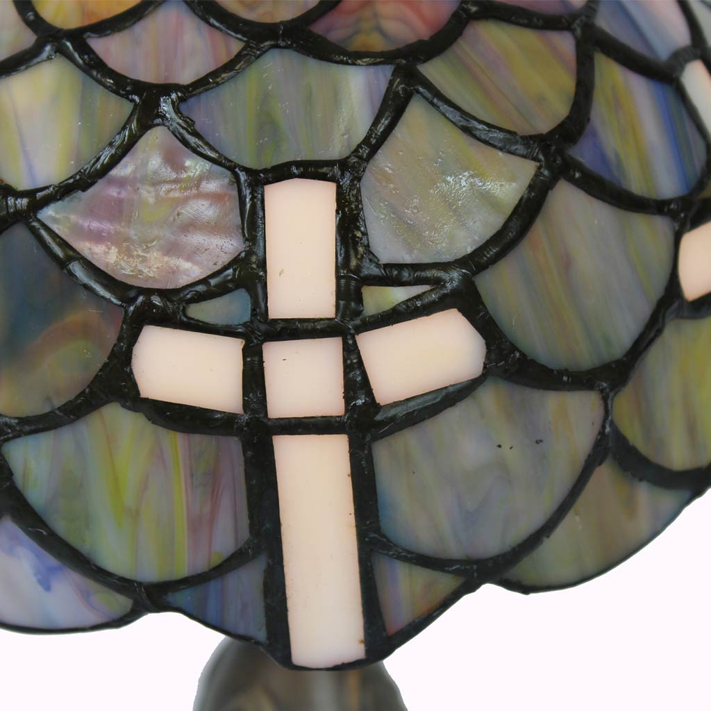 Chalice of Salvation Tiffany Accent Lamp - Small