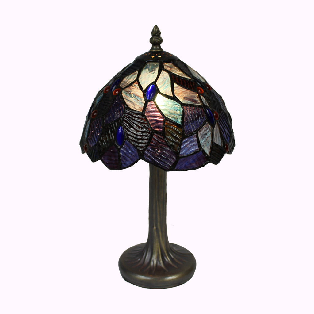 Small Fairy Pool Tiffany Accent Lamp from Memory Lane Lamps