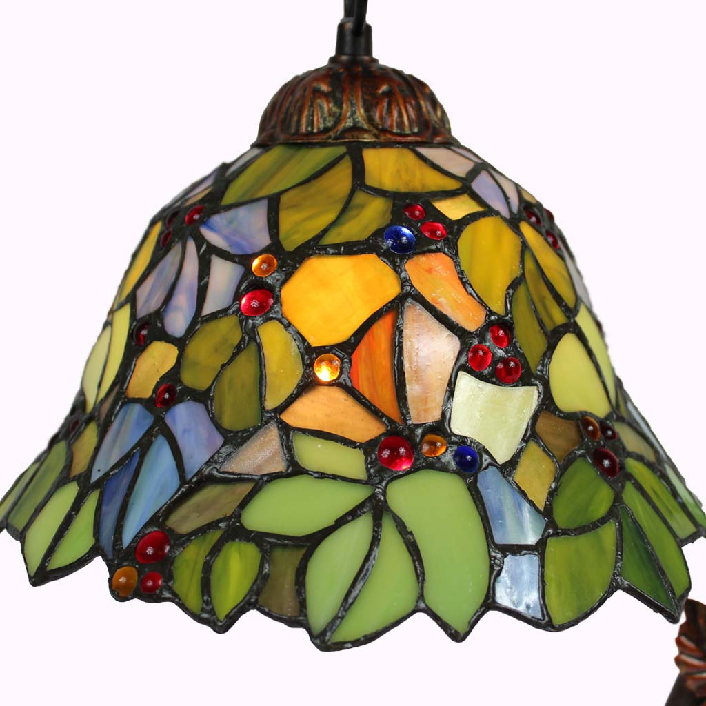 Spring Delight Tiffany Accent Lamp from Memory Lane Lamps