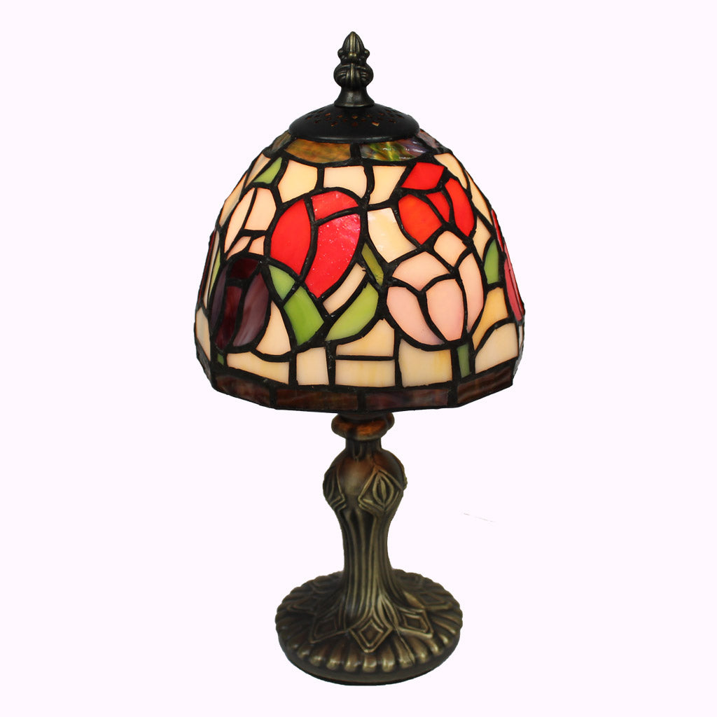 Thumbalina Tulips Tiffany Accent Lamp