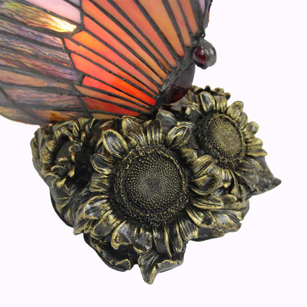 Tiffany Butterfly Sculptured Bronze Lamp from Memory Lane Lamps