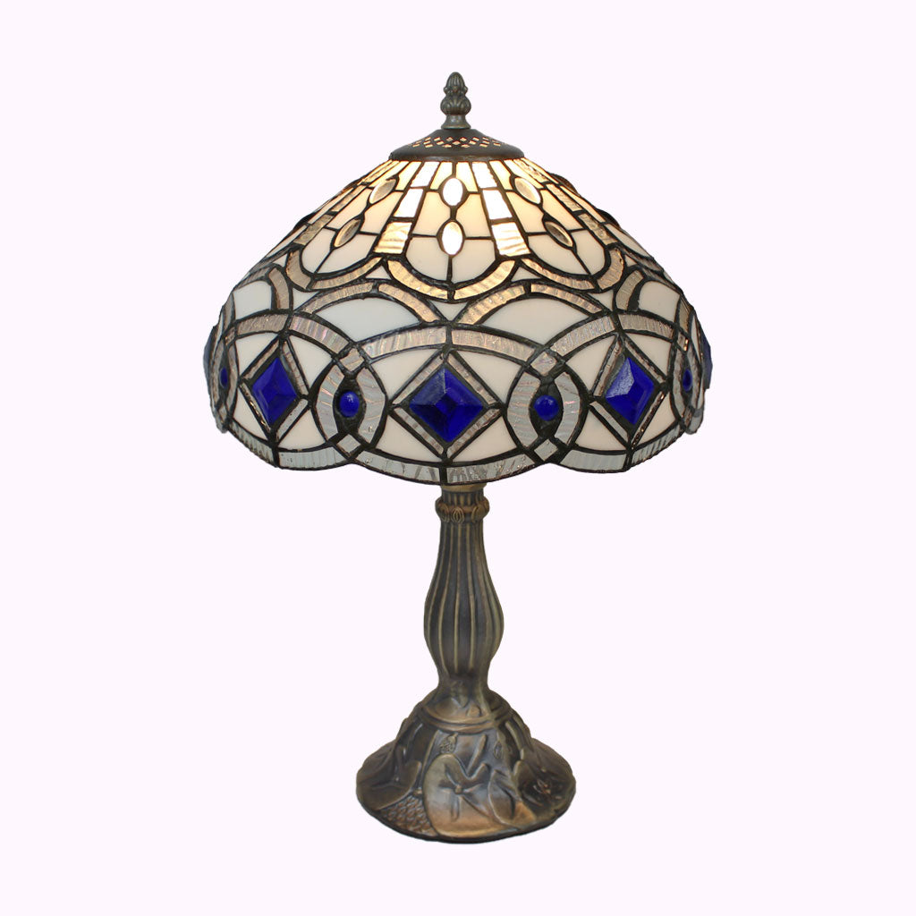 Tiffany Ice Table Lamp from Memory Lane Lamps