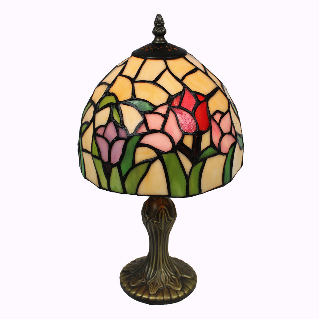 Tulip Garden Tiffany Table Lamp