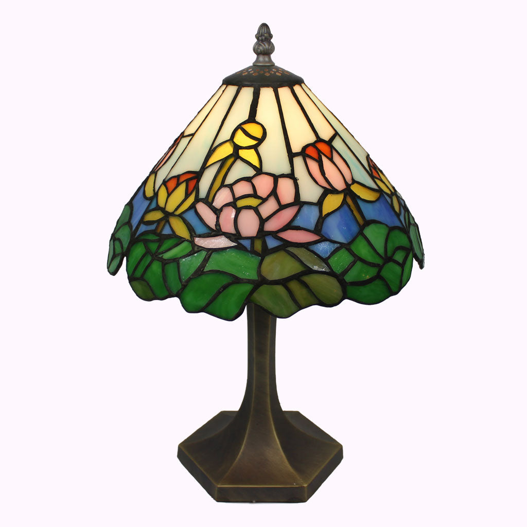 Waterlily Tiffany Table Lamp
