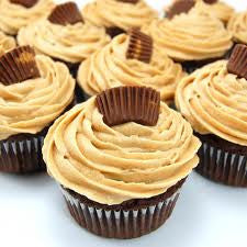 Reese Cup Cupcakes