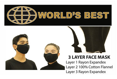 FACE MASKS-3 PACK
