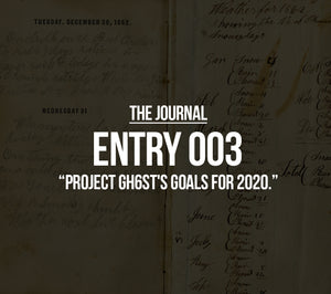 PROJECT GH6ST'S GOALS FOR 2020.