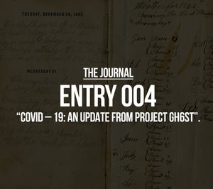 COVID – 19: AN UPDATE FROM PROJECT GH6ST.
