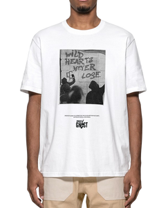 'WILD HEARTS NEVER LOSE' T-SHIRT WHITE