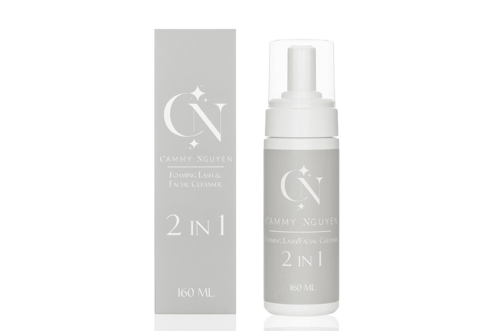 2 IN 1 Foaming Lash & Facial Cleanser
