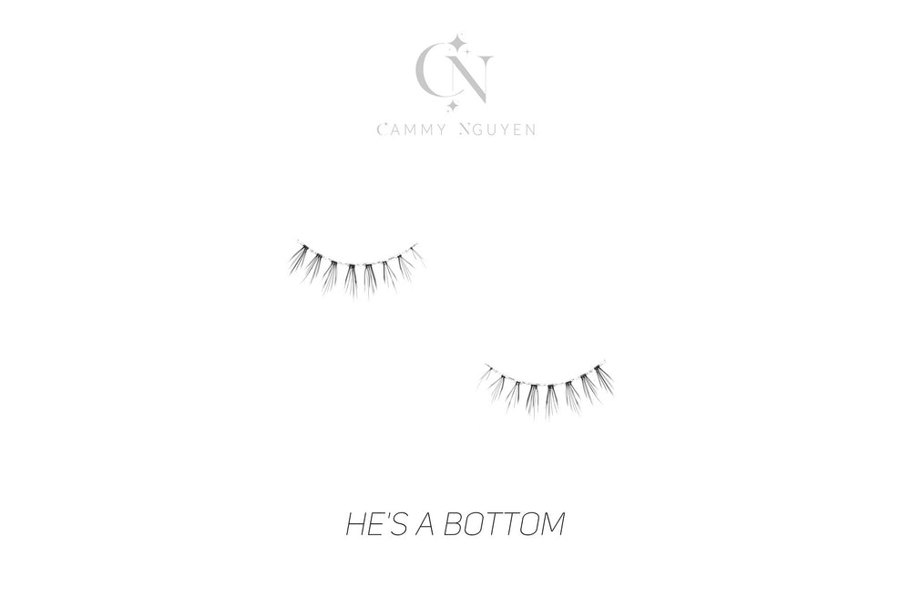 He's A Bottom (Baby Bottom Strip Lash)