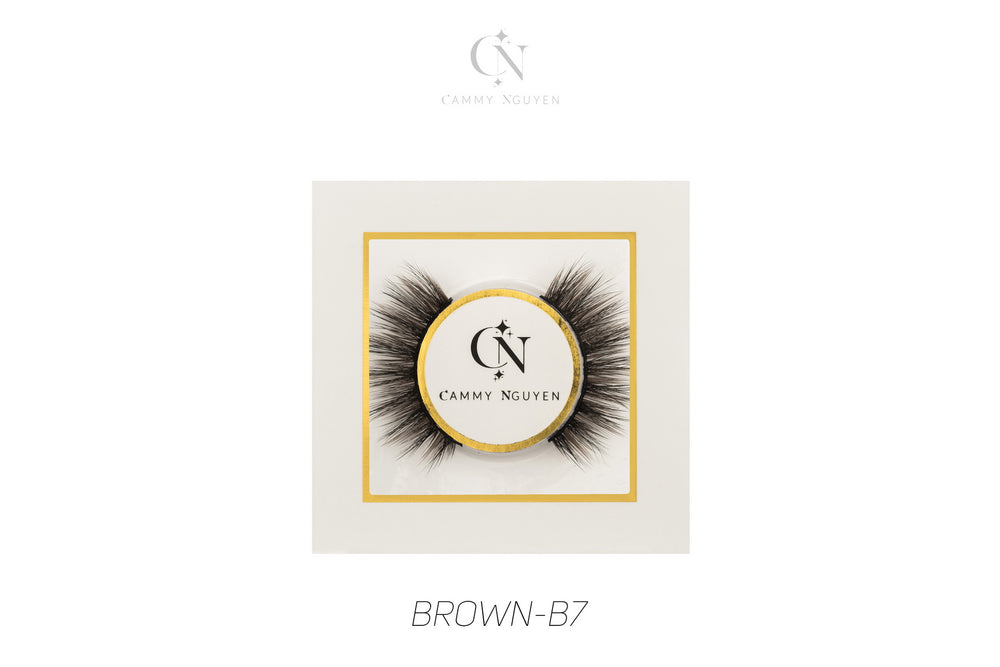 Brown B-7 Strip Lash