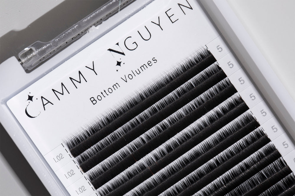 .02 Volume Bottom Lashes