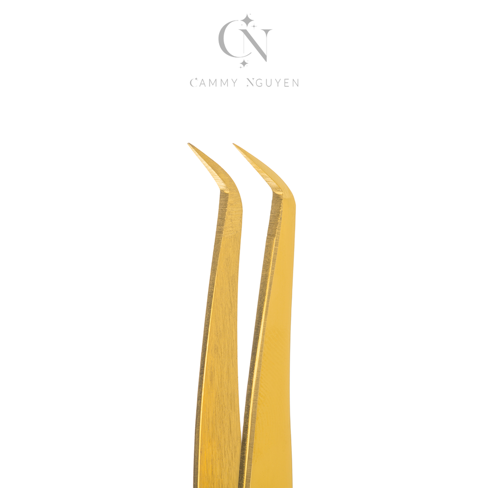 Thin Gold Mega Volume Tweezer