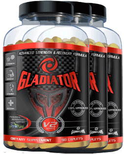 Gladiator Recovery Formula - 3-Pack