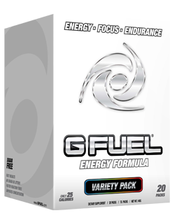 Empty G FUEL Box
