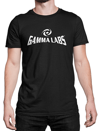 T-Shirt - Gamma Labs Logo (Black)