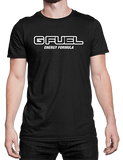 T-Shirt - G FUEL Energy Formula (Black/Outline Logo)