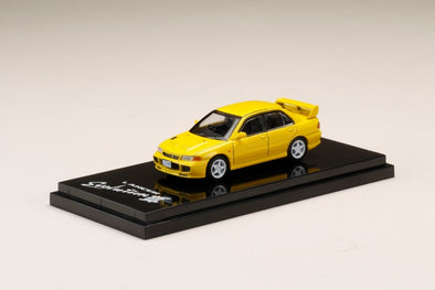 Hobby Japan 1/64 Mitsubishi LANCER GSR Evolution Ⅲ (CE9A) Dandelion Yellow - HJ641010Y