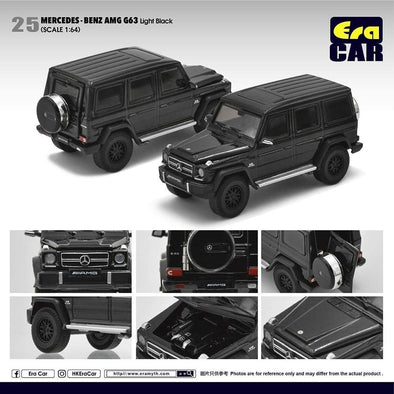 ERA CAR 25 1/64 Mercedes-Benz AMG Mercedes-Benz G63 Light Black