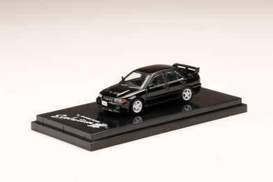 Hobby Japan 1/64 Mitsubishi LANCER GSR Evolution Ⅲ (CE9A) Pyrenees Black - HJ641010BK