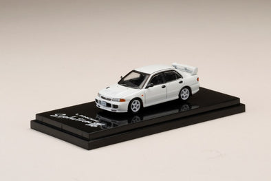 Hobby Japan 1/64 Mitsubishi LANCER GSR Evolution Ⅲ (CE9A) Scortia White - HJ641010W