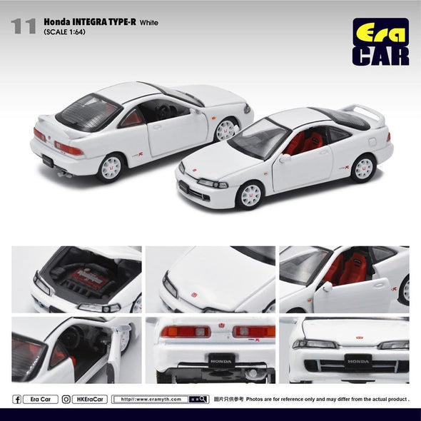 ERA CAR 11 1/64 Honda Interga Type-R DC2 (White)