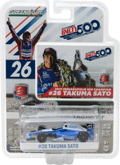 GreenLight 1/64 2017 #26 Takuma Sato / Andretti Autosport, Ruoff Home Mortgage / 2017 Indianapolis 500 Champion #10795