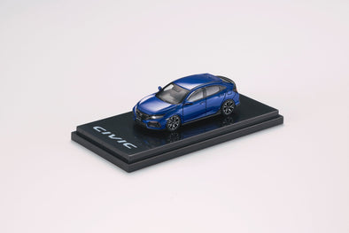 Hobby Japan 1/64 Honda CIVIC HB (FK7) Blue Metallic